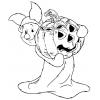 Disegno di Pimpi Hallowen da colorare