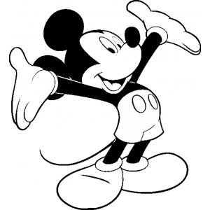 Disegno di viva topolino da colorare per bambini gratis - Cane da colorare le pagine libero ...