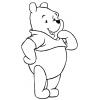 Disegno di Disney Winnie Pooh  da colorare