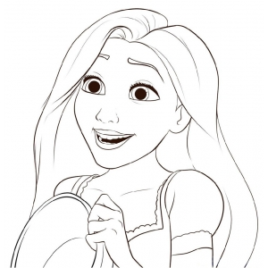 Disegni delle principesse disney da colorare e ritagliare for Immagini da copiare a mano