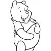 Disegno di Winnie The Pooh Disney da colorare