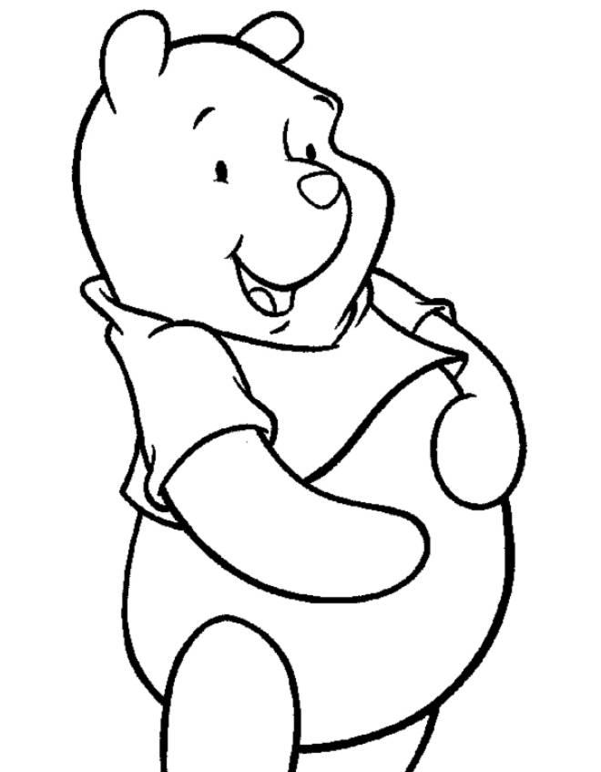 Disegni Da Colorare Per Bambini Gratis Disney.Disegno Di Winnie The Pooh Disney Da Colorare Per Bambini