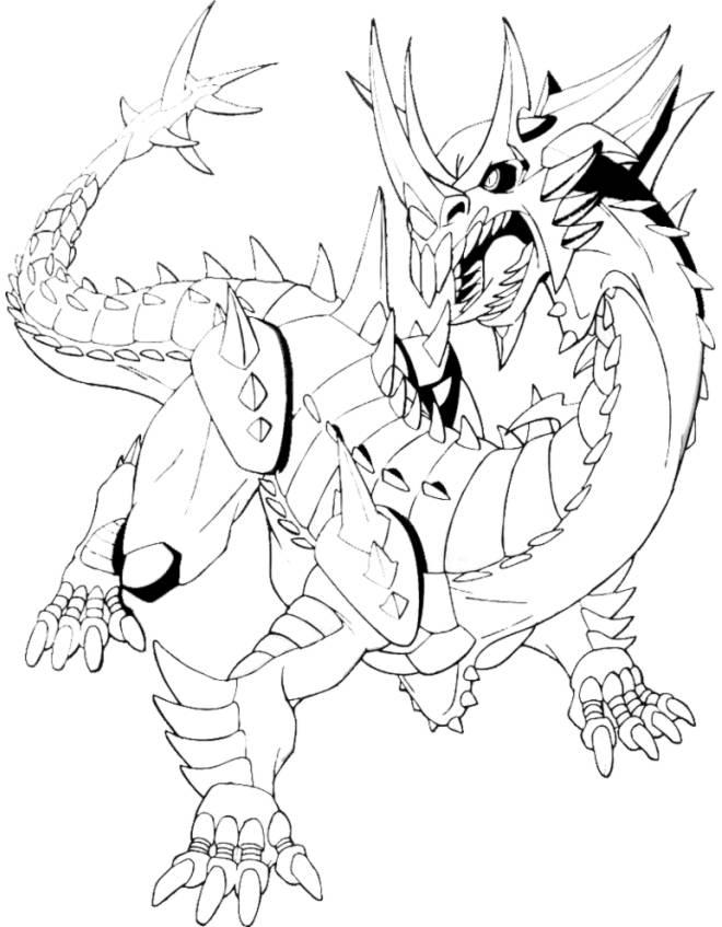 Top Disegni con draghi per bambini - disegnidacolorareonline.com TN14