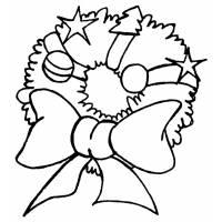 disegno di Decorazione Natalizia da colorare