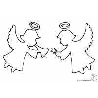 Disegni con angeli per bambini for Disegni da colorare angeli