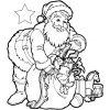 Disegno di Regali di Babbo Natale da colorare
