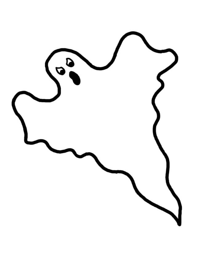 disegno di Fantasma da colorare