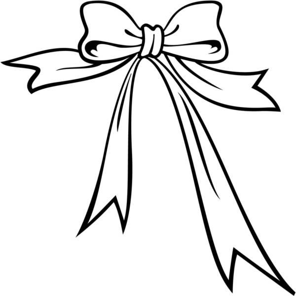 Disegno Di Fiocco Di Natale Da Colorare Per Bambini