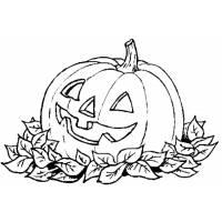Disegno di La Zucca di Halloween da colorare