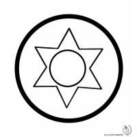 Disegno di Mandala 10 da colorare