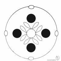 Disegno di Mandala 7 da colorare