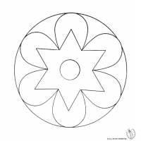 Disegno di Mandala 2 da colorare