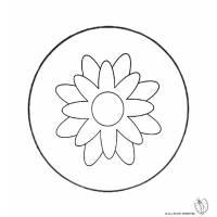 Disegno di Mandala 4 da colorare