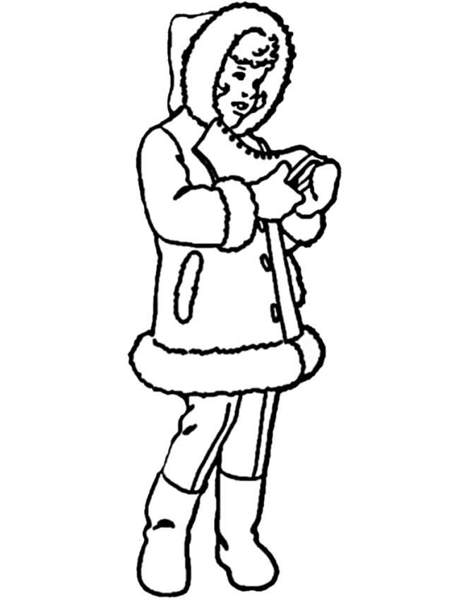 disegno di Pattinaggio su Ghiaccio da colorare