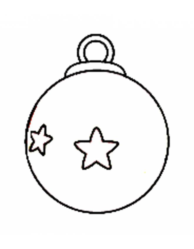 Stampa Foto Su Palline Di Natale.Stampa Disegno Di Pallina Di Natale Da Colorare