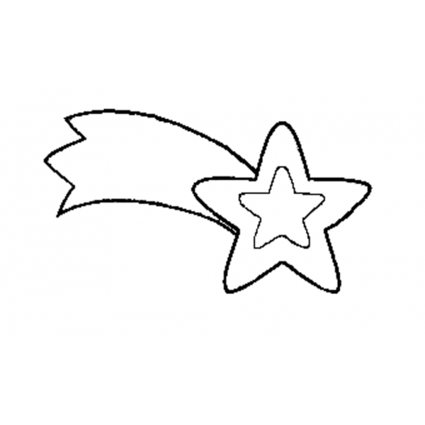 Stella Di Natale Da Colorare.Disegno Di Stella Di Natale Da Colorare Per Bambini
