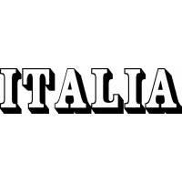 Disegno di Scritta Italia da colorare