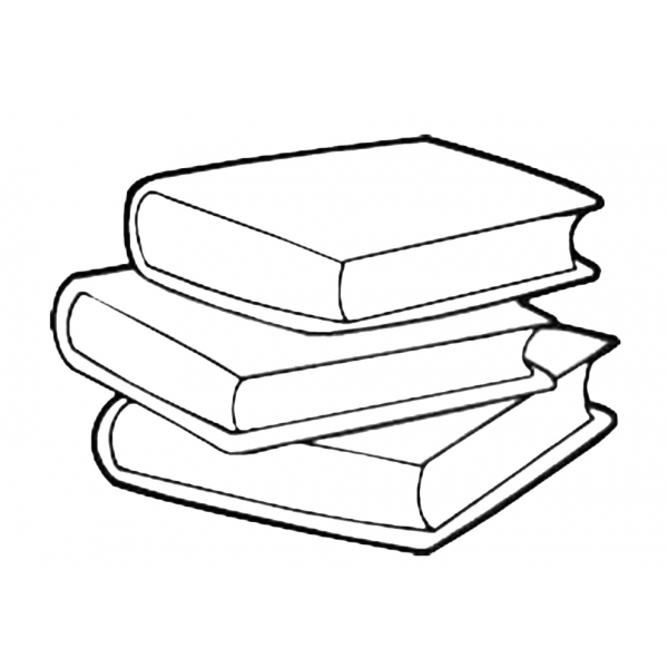 Disegno di libri scolastici da colorare per bambini - Libro da colorare elefante libro ...