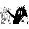 Disegno di Barbabarba Pittore da colorare