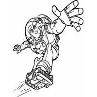 Disegno di Buzz Toy Story da colorare