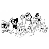 Disegno di Baby Looney Tunes da colorare