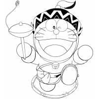 disegno di Doraemon Cartone TV da colorare