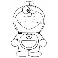 disegno di Doraemon  da colorare