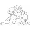 Disegno di Iguana Artica Ben Ten da colorare