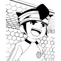 Disegno di Inazuma Eleven da colorare