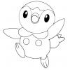 Disegno di Piplup Pokemon da colorare