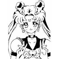 Disegni Con Sailor Moon Per Bambini Disegnidacolorareonlinecom