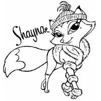 Disegno di Shayna Bratz Petz da colorare