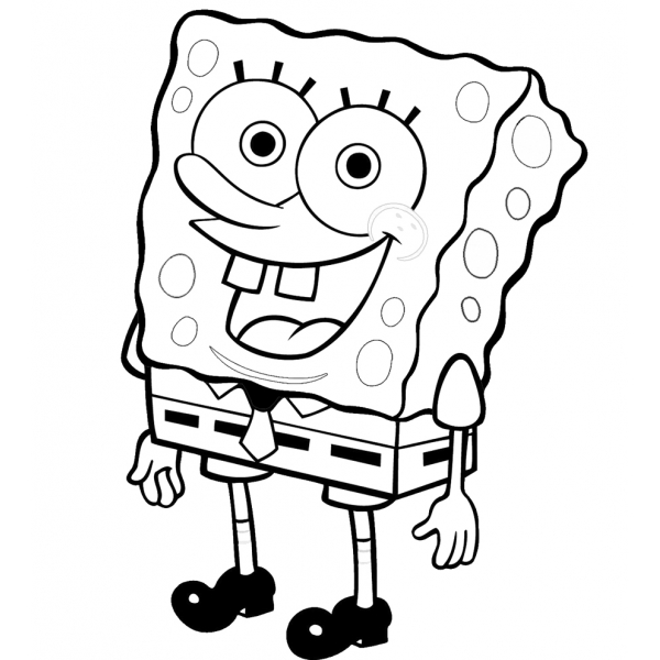 Disegno di Spongebob da colorare