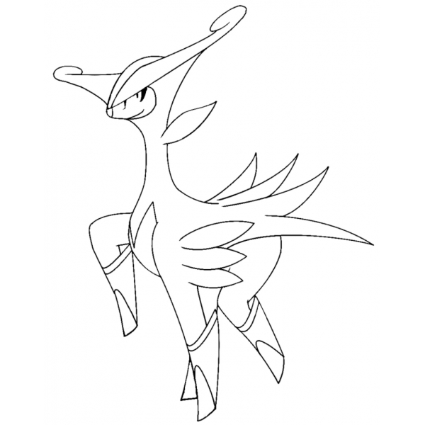 pokemon keldeo coloring pages - photo#24