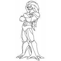 disegno di Toby Il Signore del Mare da colorare