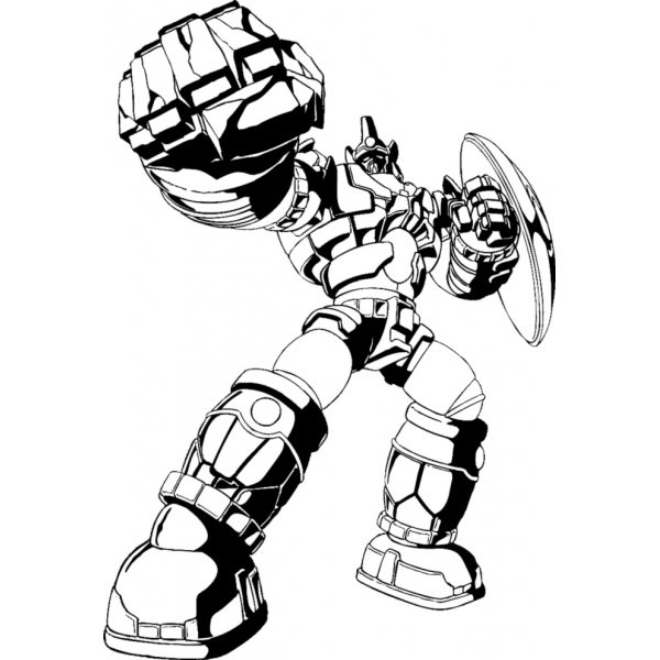 Disegno Di I Transformers Da Colorare Per Bambini