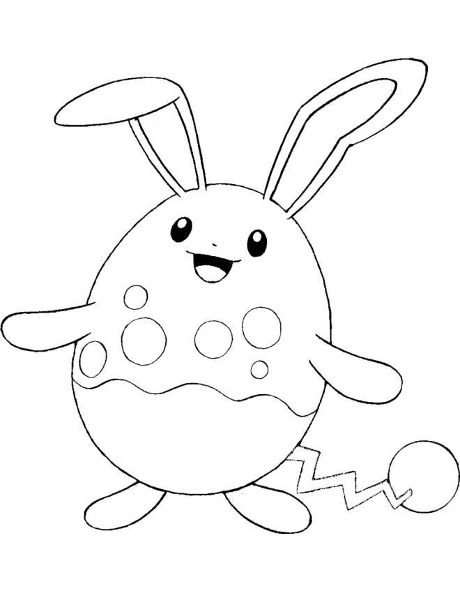 Kleurplaten Raichu Disegno Di Pokemon Azumarill Da Colorare Per Bambini