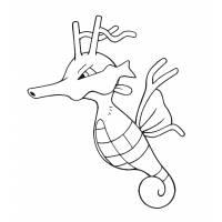 disegno di Pokemon Kingdra da colorare