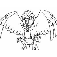 disegno di Pokemon Pidgeot da colorare