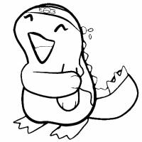 disegno di Pokemon Quagsire da colorare