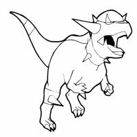 Disegno di Pokemon Rampardos da colorare