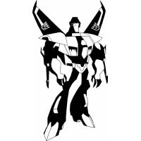 disegno di Skywarp  Transformers da colorare