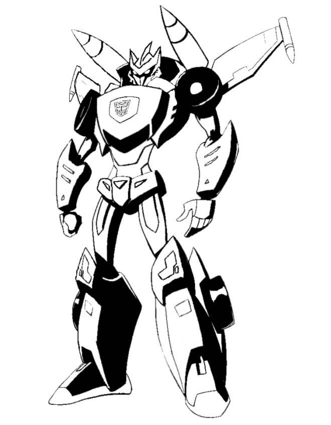 disegno di The Transformers da colorare