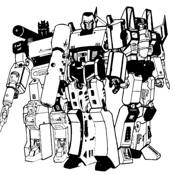Disegno di Transformers da colorare