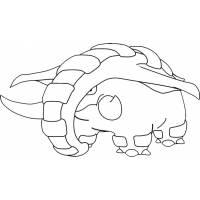 disegno di Pokemon Donphan da colorare