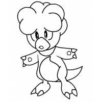 disegno di Pokemon Magby da colorare