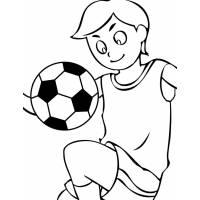 Disegno Pallone Da Colorare.Disegno Di Pallone Da Calcio Da Colorare Per Bambini