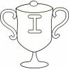 disegno di Coppa Italia da colorare
