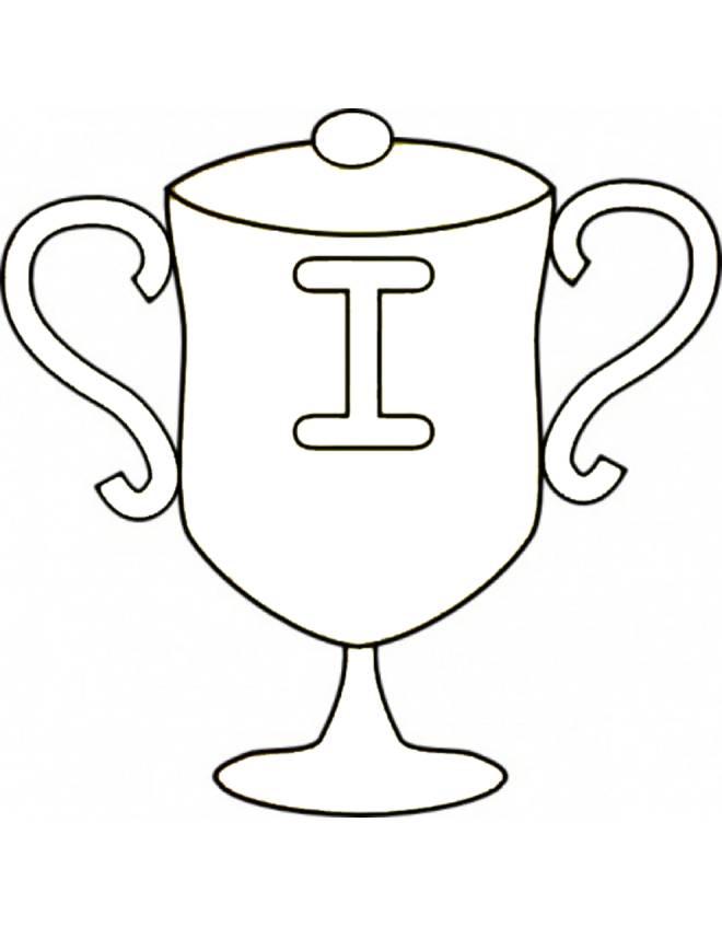 Stampa Disegno Di Coppa Italia Da Colorare