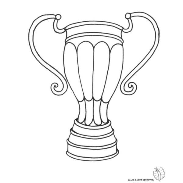 Disegno di Trofeo da colorare
